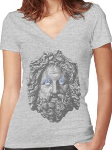 Zeus! Women's Fitted V-Neck T-Shirt