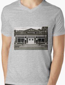 Motordrome Mens V-Neck T-Shirt