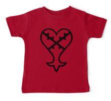 Heartless Logo (Black) - Kingdom Hearts Baby Tee