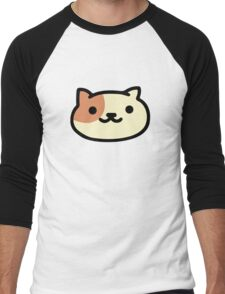 Peaches - Neko Atsume Men's Baseball ¾ T-Shirt