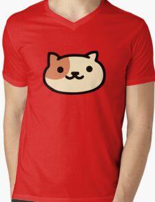 Peaches - Neko Atsume Mens V-Neck T-Shirt