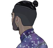 Zayn Man bun 1 by INEFFABLE Designs
