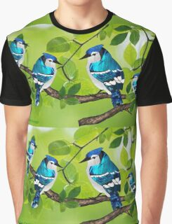Blue jays (3560 views) Graphic T-Shirt