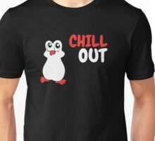 Chill Out - Penguin Unisex T-Shirt