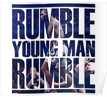Anthony Rumble Johnson Poster