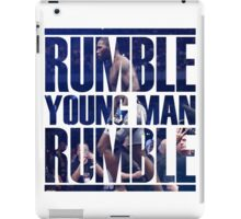 Anthony Rumble Johnson iPad Case/Skin