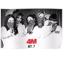 4minute act 7 Poster