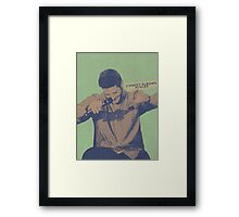 Comedy Elbows Ackles Framed Print