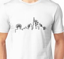 Mandala Chicago Skyline Unisex T-Shirt