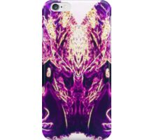 Symmetry woman iPhone Case/Skin