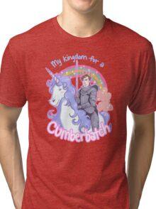 My kingdom for a Cumberbatch Tri-blend T-Shirt