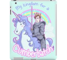 My kingdom for a Cumberbatch iPad Case/Skin
