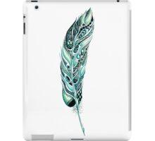 Tribal Feather Illustration iPad Case/Skin