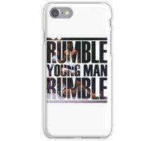 Muhammed Ali iPhone Case/Skin