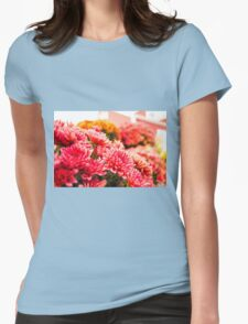 Country Blossoms Womens Fitted T-Shirt