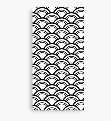 Japanese style pattern Canvas Print