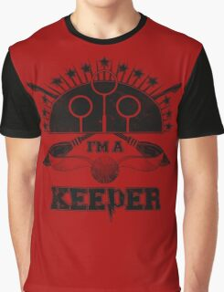 I'm A Keeper (Gryffindor) Graphic T-Shirt