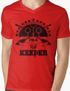 I'm A Keeper (Gryffindor) Mens V-Neck T-Shirt