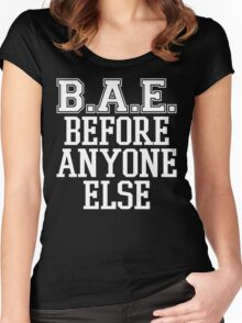 BAE Before Anyone Else  Women's Fitted Scoop T-Shirt