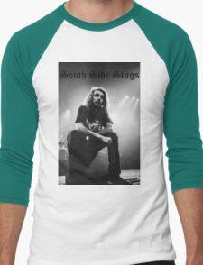 Pouya South Side Slugs Old English Men's Baseball ¾ T-Shirt