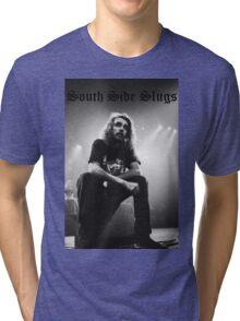 Pouya South Side Slugs Old English Tri-blend T-Shirt
