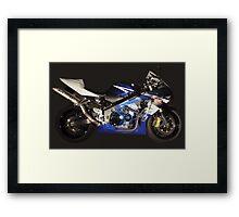 See Through GSXR Framed Print