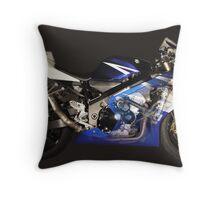 See Through GSXR Throw Pillow