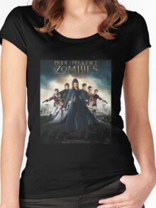 Pride + Prejudice + Zombies  2016 Women's Fitted Scoop T-Shirt