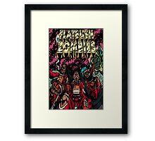 Flatbush Zombies Space Odyssey  Framed Print