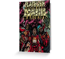 Flatbush Zombies Space Odyssey  Greeting Card