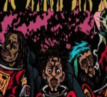 Flatbush Zombies Space Odyssey  Sticker