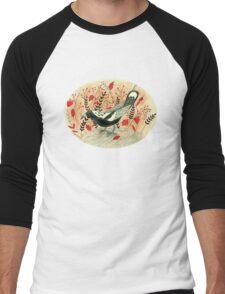 Baby the Magpie Men's Baseball ¾ T-Shirt