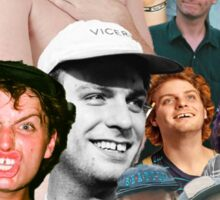 Mac DeMarco Collage Sticker