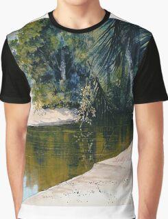 """Tidal Creek, Dunk Island"" Graphic T-Shirt"