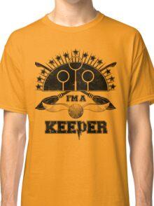 I'm A Keeper (Hufflepuff) Classic T-Shirt