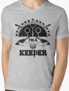I'm A Keeper (Hufflepuff) Mens V-Neck T-Shirt