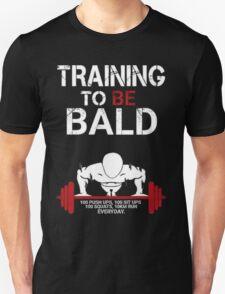 One Punch Man Saitama Training to go bald Cosplay Japan Anime T Shirt T-Shirt