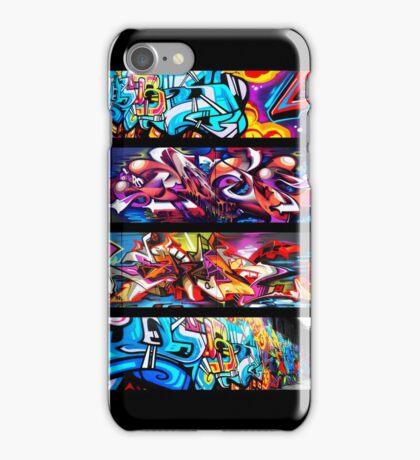 Graffitee'd (Black) iPhone Case/Skin