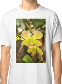 Yellow Orchid Classic T-Shirt