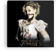 Pride + Prejudice + Zombies  2016 Movie Metal Print
