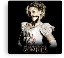 Pride + Prejudice + Zombies  2016 Movie Canvas Print