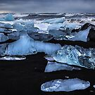 Jokulsarlon Ice Beach by John Dekker