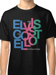 Elvis Costello (Black) Classic T-Shirt