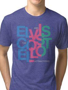 Elvis Costello (Black) Tri-blend T-Shirt