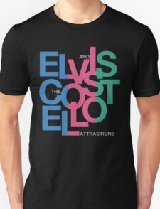 Elvis Costello (Black) T-Shirt