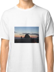 Haystack Rock at Cannon Beach, OR Classic T-Shirt