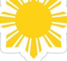 Filipino Sun and Stars Sticker