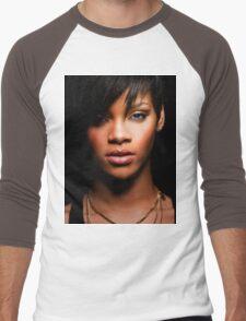 Cool Rihanna by omans Men's Baseball ¾ T-Shirt