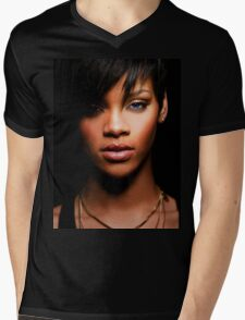 Cool Rihanna by omans Mens V-Neck T-Shirt