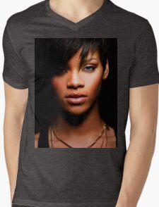 Cool Rihanna by omans Mens V-Neck T-Shirt